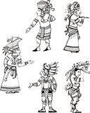 Maya cleric characters