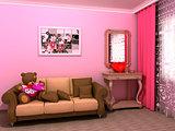 St. Valentine's babyroom (childroom)