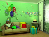 Happy Birthday child room