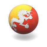 Bhutanian flag