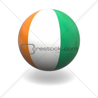 Cote d Ivore flag