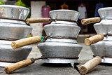 Aluminium pans in Nepal
