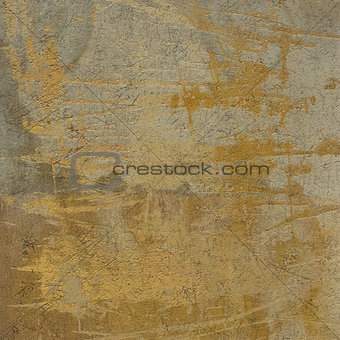 3d abstract grunge beige orange yellow wall background