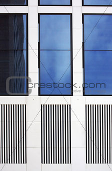 Tinted windows and grid
