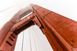 Big red bridge: The Golden Gate