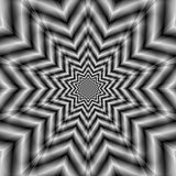 Optically Challenging Star in Black and White