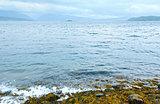 Norwegian Sea cloudy view