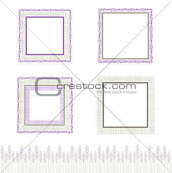 Abstract Natural Frame Set