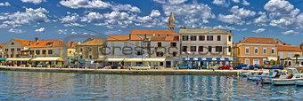 Town of Biograd na moru waterfront