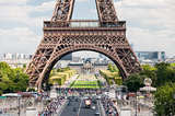 The Eiffel Tower in Paris France