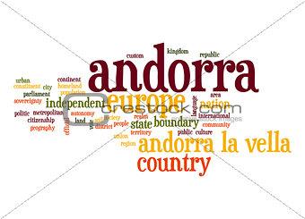 Andorra word cloud