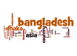 Bangladesh word cloud