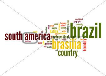 Brazil word cloud