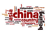 China word cloud