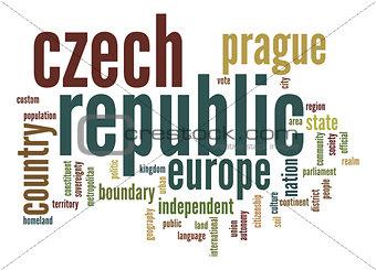 Czech Republic word cloud