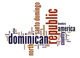 Dominican Republic word cloud
