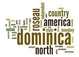 Dominica word cloud