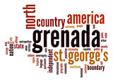 Grenada word cloud