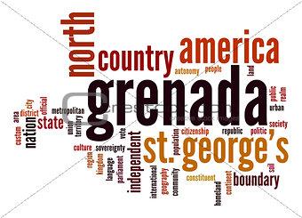 Grenada word cloud