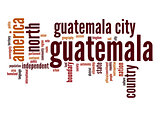 Guatemala word cloud