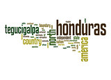 Honduras word cloud