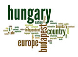 Hungary word cloud
