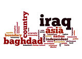 Iraq word cloud