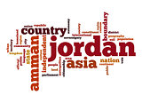Jordan word cloud