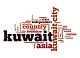 Kuwait word cloud