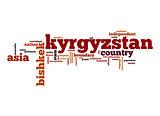 Kyrgyzstan word cloud