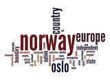 Norway word cloud