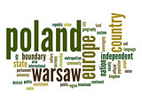 Poland word cloud