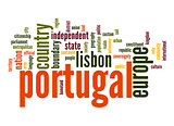 Portugal word cloud