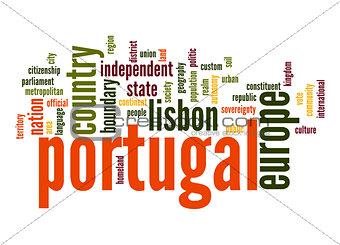 Portugal word cloud