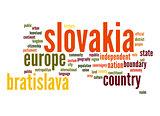 Slovakia word cloud