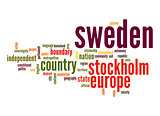 Sweden word cloud