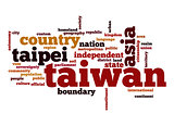 Taiwan word cloud