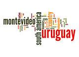 Uruguay word cloud
