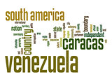 Venezuela word cloud