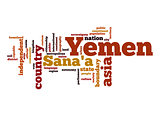 Yemen word cloud