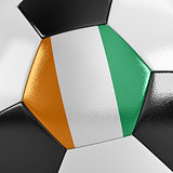 Ivory Coast Soccer Ball
