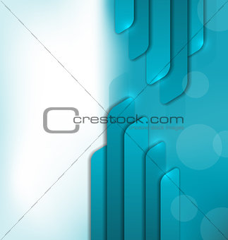 Abstract futuristic brochure for design business card