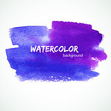 Watercolor design
