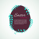 Easter design template