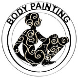 body painting stamp
