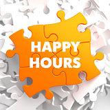 Happy Hours on Orange Puzzle.