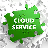 Cloud Service on Green Puzzle.