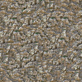Rocky Surface. Seamless Tileable Texture.