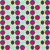 Seamless pattern with fabric texture