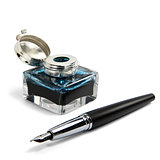 Inkwell With Fountain Pen